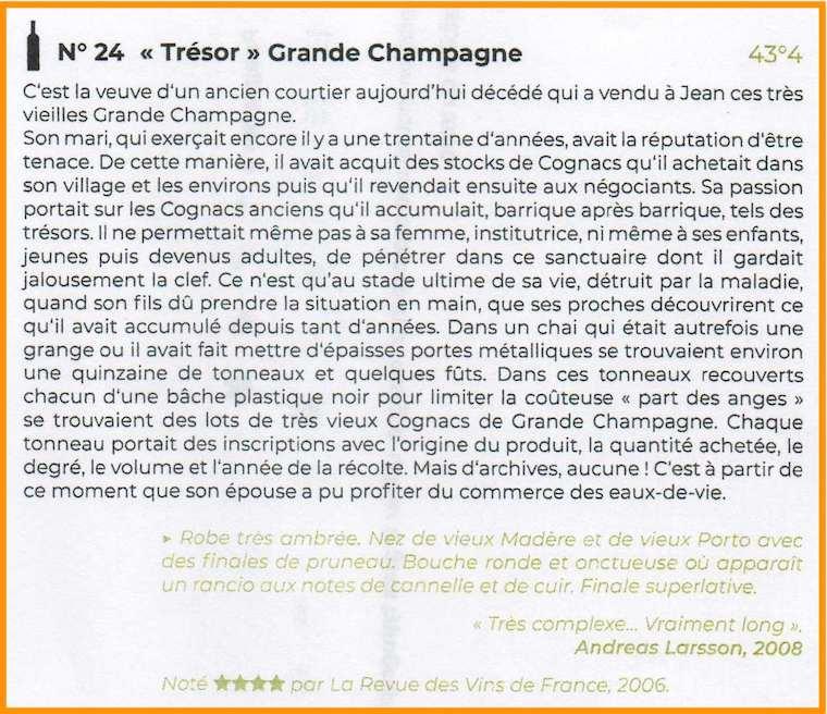 N24 Tresor Grande Champagne