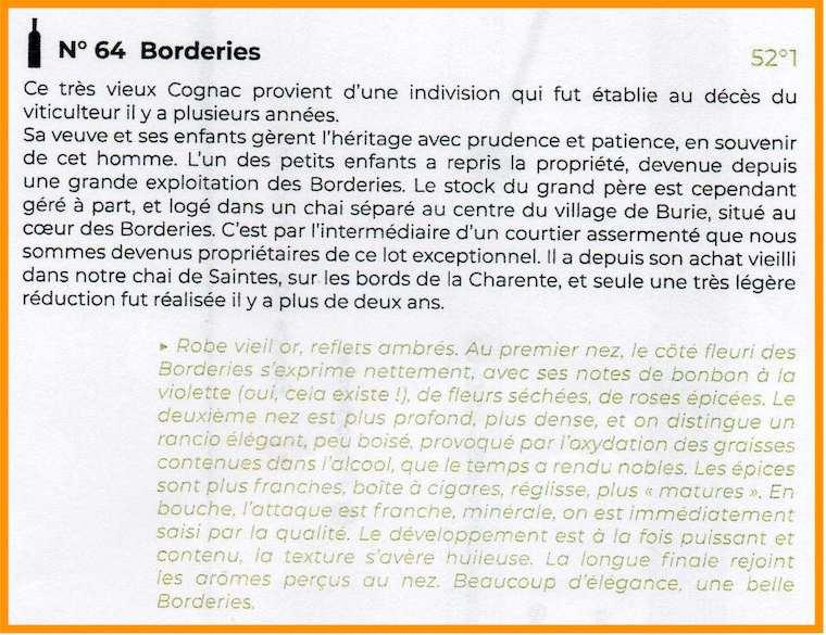 N64 Borderies
