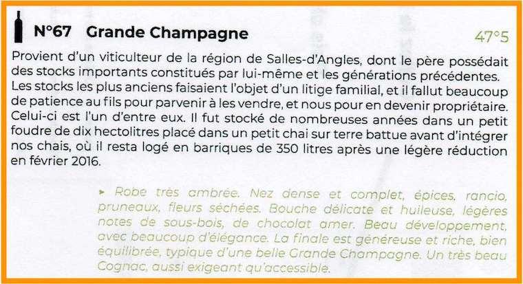 N67 Grande Champagne